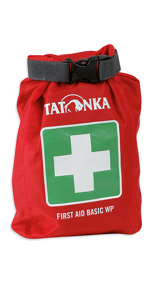 Tatonka First Aid Basic - Botiquín & Farmacia de viaje - Waterproof verde/rojo